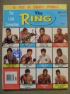 Alexis Arguello And Wilfred Benitez Plus Eder Jofre Latino Legends And Hall Of Famers MULTI SIGNED Ring Magazine