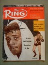 Floyd Patterson Former 2 x Heavyweight World Champion And Hall Of Famer SIGNED 1960 Ring Magazine