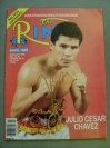 Julio Cesar Chavez Legendary Mexican Icon And Hall Of Famer SIGNED Ring Magazine