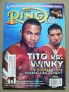 Winky Wright Former Undisputed Light Middleweight World Champion SIGNED Ring Magazine