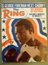 George Foreman Former Heavyweight World Champion And Hall Of Famer SIGNED 1971 Ring Magazine