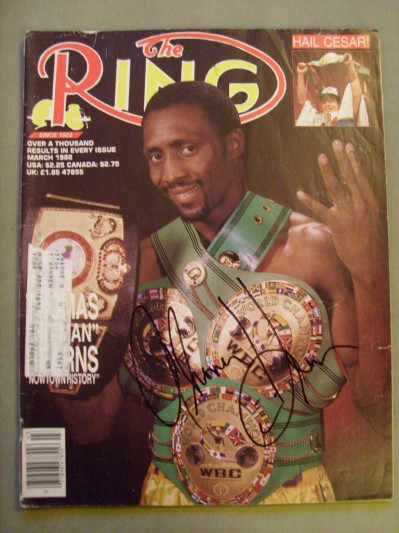 Thomas Hearns Former 6 Weight World Champion And Hall Of