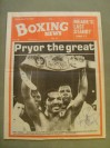 Aaron Pryor Hall Of Fame Legend And Former Light Welterweight World Champion SIGNED And INSCRIBED Boxing News