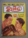 Kid Gavilan Former Welterweight World Champion And Hall Of Famer SIGNED And INSCRIBED Ring Magazine