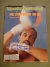 Ken Norton Former Heavyweight World Champion Who Fought Muhammad Ali On 3 Occasions SIGNED Sports Illustrated Magazine