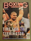 David Tua Heavyweight Contender Who In 2000 Challenged Lennox Lewis SIGNED And INSCRIBED Boxing Monthly Magazine