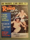 Karl Mildenberger Former European Heavyweight Champion And Muhammad Ali Opponent SIGNED And INSCRIBED Also DATED Ring Magazine