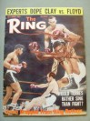 Floyd Patterson Former 2 x Heavyweight World Champion And Hall Of Famer SIGNED 1965 Ring Magazine