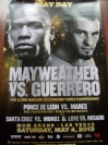 Floyd Mayweather Jr vs Robert Guerrero WBC Welterweight World Title Official Onsite Poster