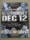 Arturo Gatti vs Ivan Robinson II DUAL SIGNED Official Onsite Programme Also SIGNED By Fernando Vargas