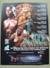 Daniel Ponce De Leon 2 Weight World Champion SIGNED WBC Flyer