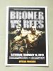 Adrien Broner vs Gavin Rees WBC Lightweight World Title Official Onsite Programme SIGNED By Adrien Broner