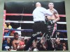 Brandon Rios Former WBA Lightweight World Champion SIGNED And INSCRIBED Action Shot Photo Against Miguel Acosta