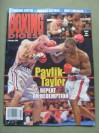 Kelly Pavlik Former WBC And WBO Middleweight World Champion SIGNED And INSCRIBED Boxing Digest Magazine