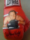 Sir Henry Cooper SIGNED Limited Edition Hand Painted Everlast Glove
