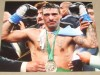 Lucas Matthysse Light Welterweight World Title Contender SIGNED After Fight Victory Celebration Photo