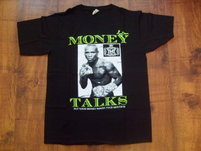 Floyd Mayweather Jr Latest Money Design Tee Shirt Issued To TMT Members