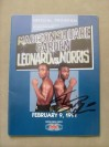 Sugar Ray Leonard vs Terry Norris WBC Light Middleweight World Title Official Onsite Programme SIGNED By Terry Norris