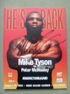 Mike Tyson vs Peter McNeeley Official Onsite Programme SIGNED By Tyson