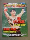 Joe Calzaghe v Branco Sobot WBO Super Middleweight World Title Official Onsite Programme SIGNED With RARE FULL SIGNATURE And INSCRIBED By Joe Calzaghe
