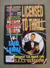 Naseem Hamed vs Said Lawal WBO Featherweight World Title Official Onsite Programme SIGNED By Prince Naseem Hamed