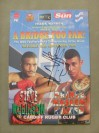 Naseem Hamed vs Steve Robinson WBO Featherweight World Title Official Onsite Programme SIGNED By Prince Naseem Hamed