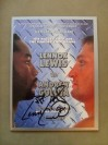 Lennox Lewis vs Andrew Golota WBC Heavyweight World Title Official Onsite Programme SIGNED And INSCRIBED By Lennox Lewis