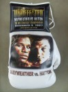 Floyd Mayweather Jr vs Ricky Hatton Commemorative Limited Edition Official Onsite Glove SIGNED By Floyd Mayweather