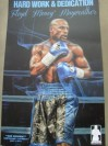 Floyd Mayweather Jr Commemorative Mayweather Promotions Official Merchandise Action Shot Graphic Design Poster