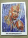 Floyd Mayweather Jr 2013 BWAA Fighter Of The Year 89th Annual Awards Ceremony Official Programme