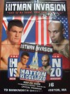 Ricky Hatton vs Luis Collazo WBA Welterweight World Title Official Onsite Programme And Poster Insert Both SIGNED And INSCRIBED By Luis Collazo