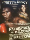Floyd Mayweather Jr vs Carlos Baldomir HBO Fight Poster