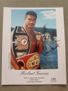 Robert Garcia Former IBF Super Featherweight World Champion And Current Leading Sought After Trainer SIGNED And INSCRIBED Promotional Photo