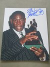 Frank Bruno MBE Former WBC Heavyweight World Champion SIGNED And Inscribed ORIGINAL 1996 BBBofC Awards Photo