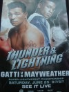 Floyd Mayweather Jr vs Arturo Gatti PPV Fight Poster