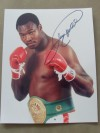 Larry Holmes aka THE EASTON ASSASSIN And 2 x Heavyweight World Champion SIGNED photo
