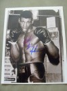 Matthew Saad Muhammad Former WBC Light Heavyweight World Champion Also Awarded 1980 Fight Of The Year Against Yaqui Lopez SIGNED Photo
