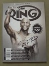 Floyd Mayweather Jr SIGNED January 2014 Ring Magazine