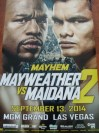 Floyd Mayweather Jr vs Marcos Maidana II WBC Welterweight And WBA Super Welterweight World Title Official Onsite Poster