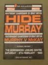 Herbie Hide vs Michael Murray I British Heavyweight Title Official Onsite Programme