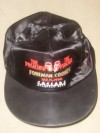 George Foreman vs Gerry Cooney Official Onsite Commemorative Silk Baseball Cap