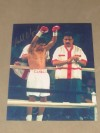 Michael Carbajal AKA Little Hands Of Stone Former Light Flyweight World Champion And Hall Of Famer SIGNED Pre Fight Photo