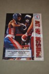 1996 US Olympic Team Trials Official Onsite Programme Featuring Floyd Mayweather Jr Participating In The 125 Pounds Weight Category