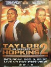 Jermain Taylor vs Bernard Hopkins II PPV Fight Poster