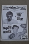 RARE Bradley Stone vs Peter Buckley Super Bantamweight Contest Official Onsite Programme
