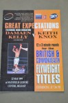 Damaen Kelly vs Keith Knox British And Commonwealth Flyweight Title Official Onsite Programme
