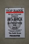 Floyd Mayweather Jr vs Carlos Rios WBC Super Featherweight World Title Official Onsite Promoter Credential