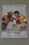 Floyd Mayweather Jr vs Manny Pacquiao WBC And WBO Welterweight Plus WBA Super Welterweight World Title Official Onsite Programme