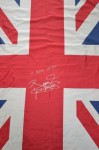 Manny Pacquiao SIGNED And Inscribed MANNY CHESTER Union Jack Flag Previously Owned By Ricky Hatton
