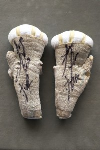 Jorge Linares 3 Weight World Champion And Future Hall Of Famer SIGNED And INSCRIBED Training WORN Hand Wraps